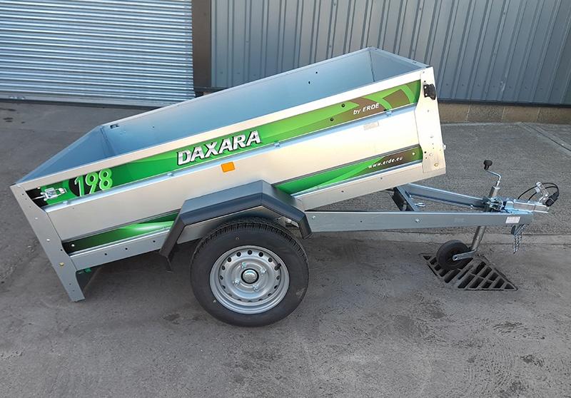 NEW DAXARA 198 CAR TRAILER