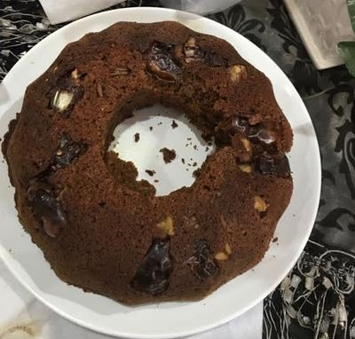 Flour less cake with Dates