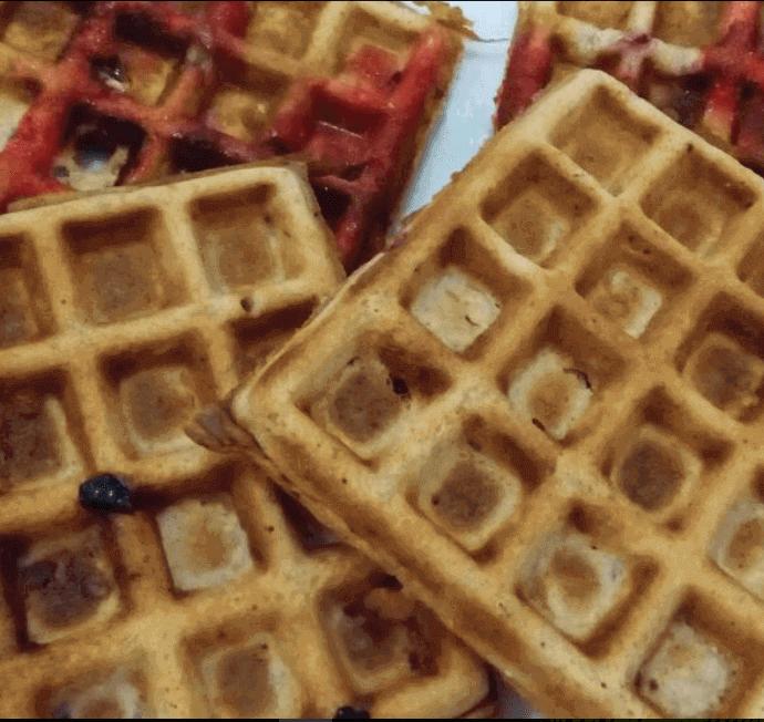 Crunchy Whole Wheat Waffles Recipe