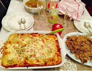 Lasagna Recipe with White Sauce