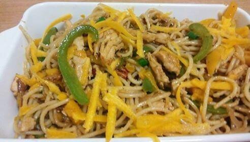 Spaghetti Recipe with Chicken