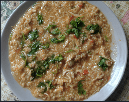 Oatmeal recipe with Chicken