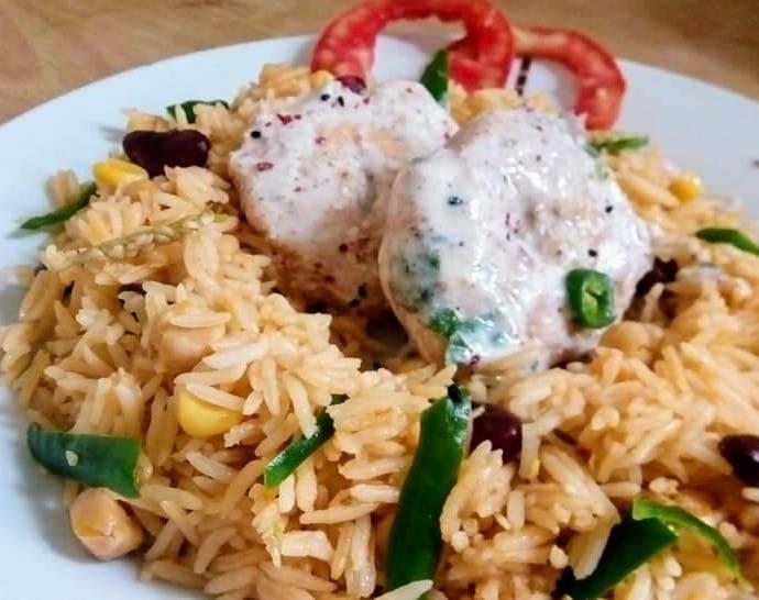 Chickpeas Rice Recipe