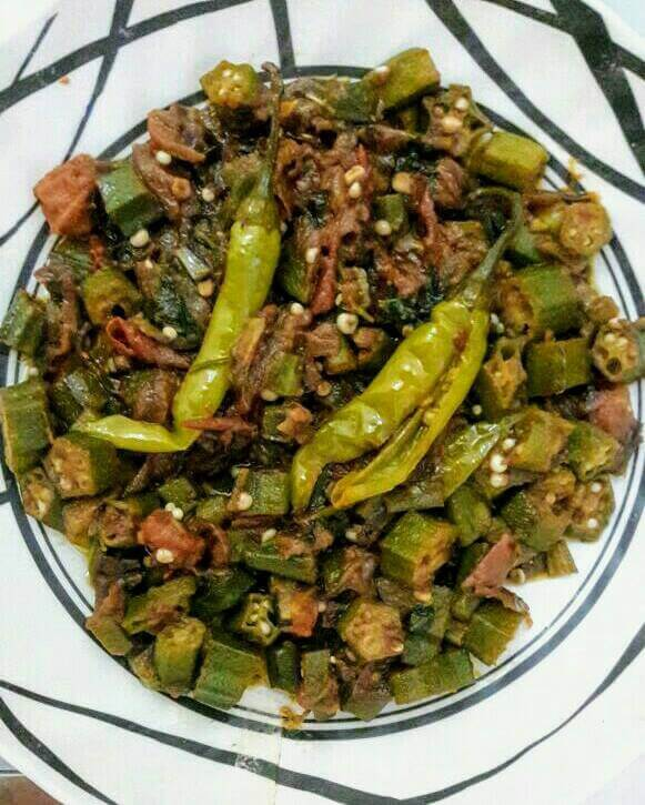 Easy and Healthy Okra Recipe(Bhindi Masala)