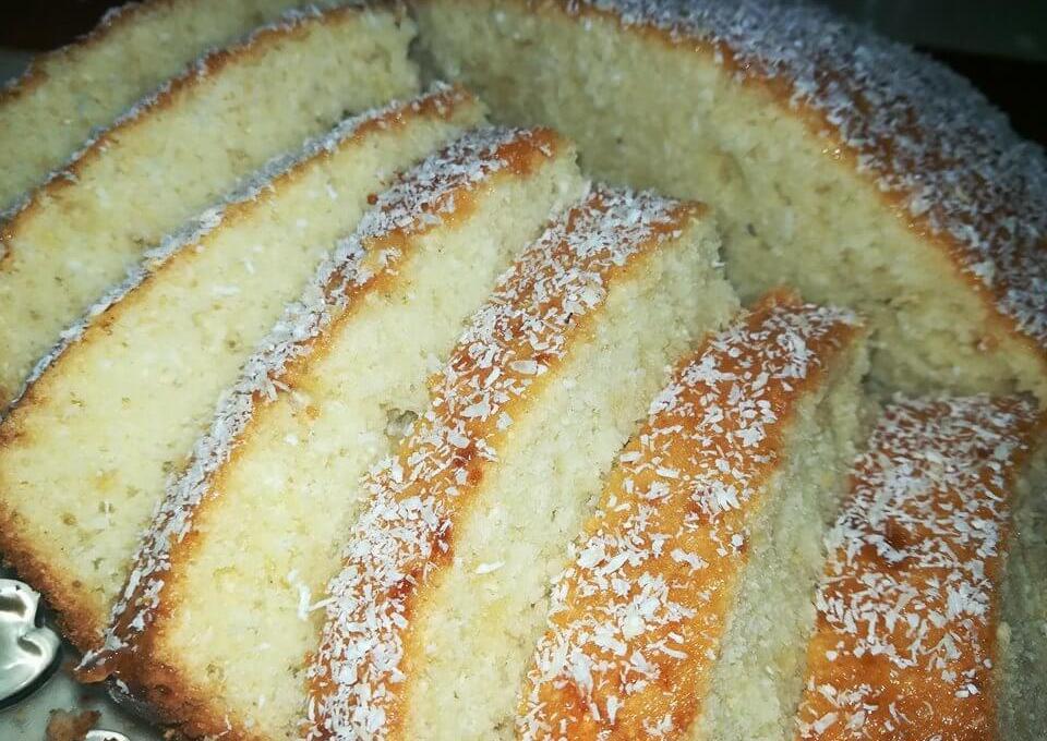 Easy and quick Coconut Cake Recipe