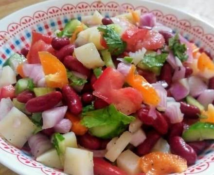 Kidney Beans Salad Recipe