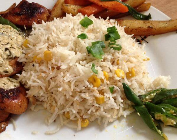Sweet Corn Rice Recipe