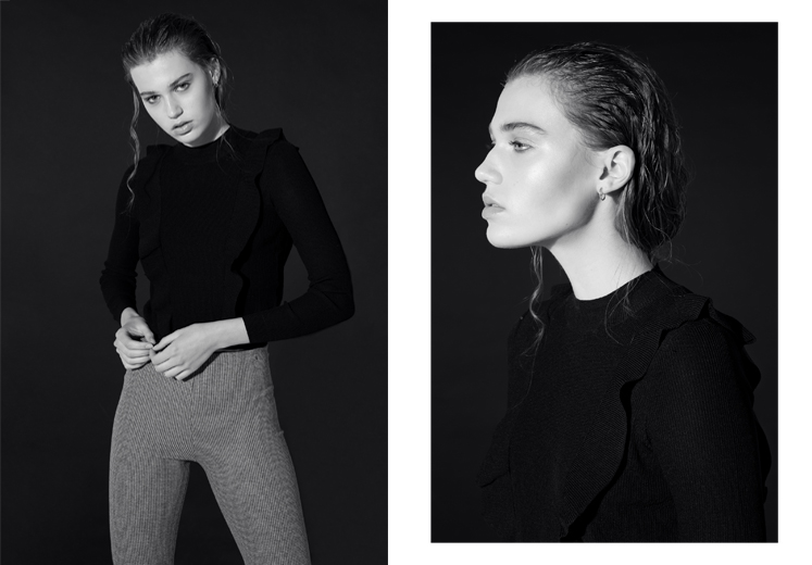 Eline van Haasteren by Daniel Gossmann for Women Management Milano by Daniel Gossmann
