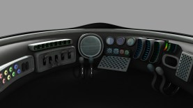 Spaceship - 3D modelling - Rendering by mentalray