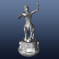 Knight white - 3D modelling - Maya