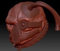 R.W.67: Sculpting the head