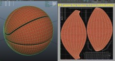 basketball spalding uv