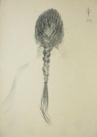 Identities (3) - pencil on paper, 36x25.5 cm, 2014