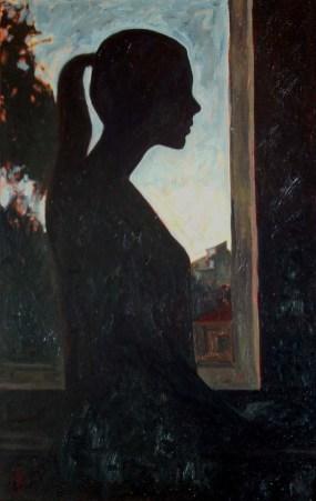 Contre-jour III (triptych) - left panel
