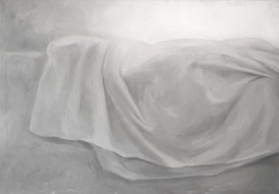 White Shades XXXI - oil on linen, 70x100cm, 2019