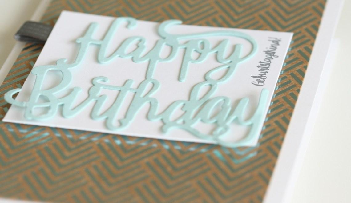 Kleines Geburtstagsset