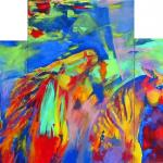 art-paintings-abstract_paintings-horses-horses