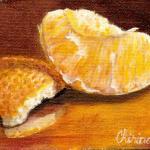 artcard-art-aceo-paintings-fruit-realism-orange_slice_ and_peel