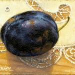 artcard-art-aceo-paintings-fruit-realism-plum-lace_tablecloth