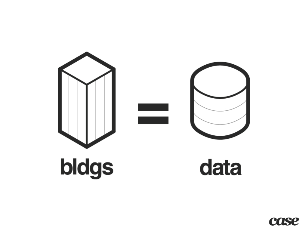 Buildings equal Data