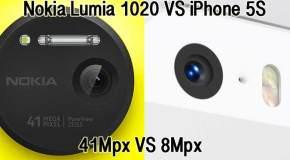 """Scontro tra """"titani"""" della fotografia: Nokia Lumia 1020 vs iPhone 5S"""