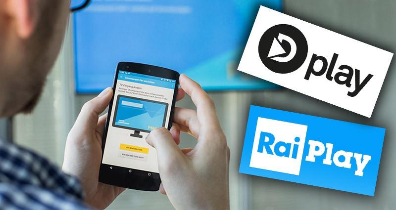 RaiPlay e Dplay con Chromecast in Risparmio Dati