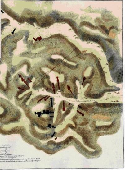 La Valle dei Re disegnata da Belzoni