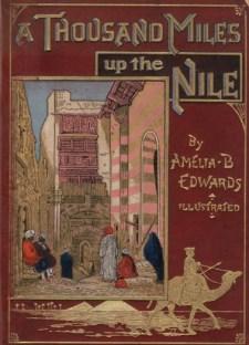 Copertina di A Thousand Miles Up The Nile, di A. Edwads