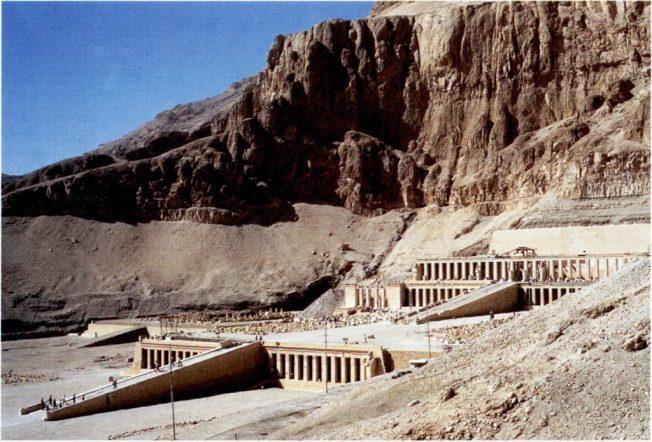 Il tempio di Hatshepsut a Deir el-Bahari