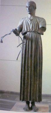 Auriga di Delfi, 478 a.C. circa, Delfi, Museo Archeologico.
