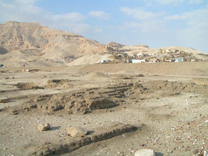 Resti del palazzo di Amenhotep III - Foto di Daniele Mancini