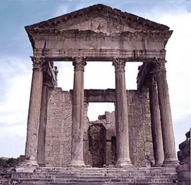 Sbeitla, il Tempio di Minerva