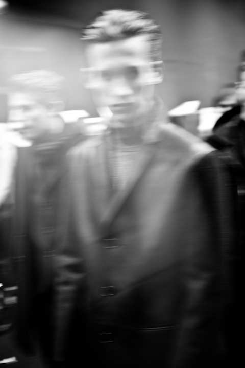 Neil Barrett AW2012 Official Backstage