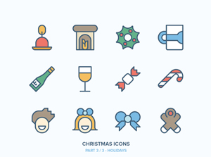 Collective199_christmasicons