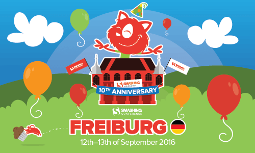 SmashingConf Freiburg 2016: Some Things Are Just Too Special To Miss