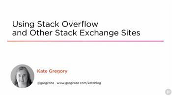 Using Stack Overflow and Other Stack Exchange Sites