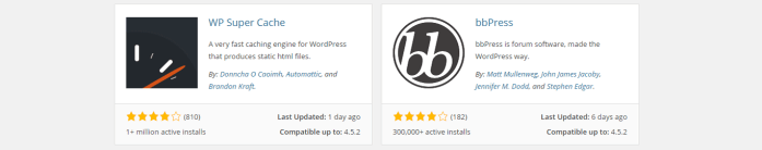 The WordPress Plugin Directory is a great place to start your plugin search.