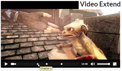 Video-extend jQuery plugin
