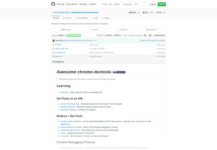 Awesome Chrome Development Tools & Resources