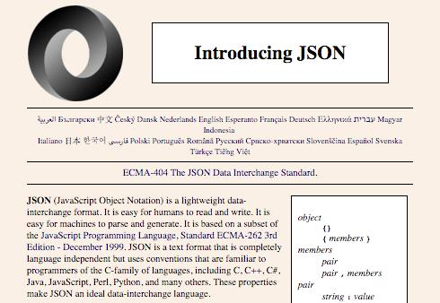 The JSON website