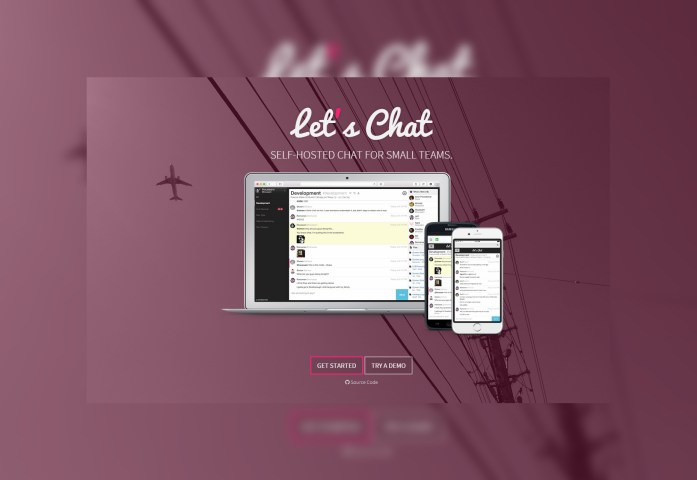 Let's Chat: Small Self-hosted Chat Tool