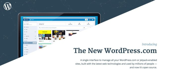 Calypso offers a single interface to manage all WordPress.com or Jetpack-enabled sites.
