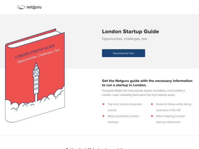 london startup guide