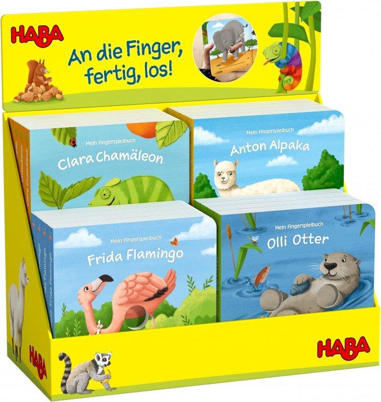 Vier Fingerspielbücher von Daniel Fehr