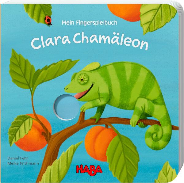 Clara Chamäleon, Fingerspielbuch von Daniel Fehr
