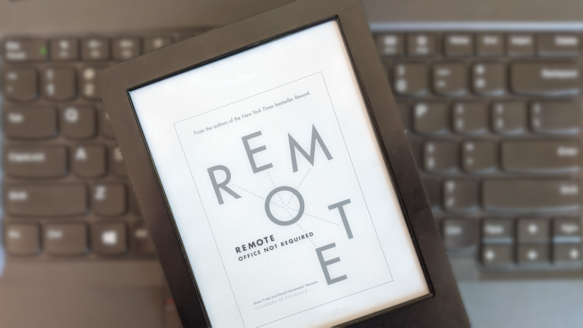 Foto do e-book Rremote: Effice not required