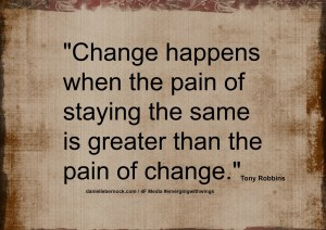 change happen when quote