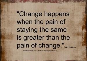 change happen when quote