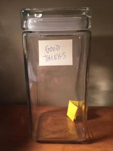 Good things jar 1