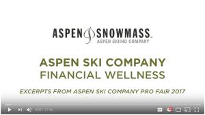 Danielle Howard Presents to the aspen ski company